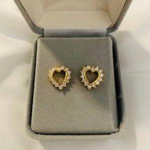 Sterling gold filled earrings